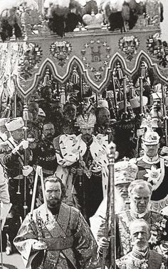 The Coronation of Emperor Nicholas II, May 1896.