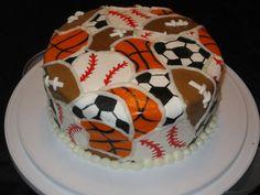 #KatieSheaDesign ♡❤ ❥ Sports #cake.