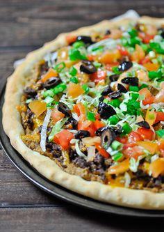 Taco Pizza - Jo Cooks