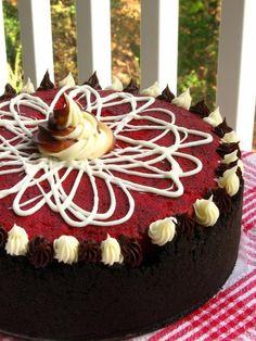 oreo cheesecake, willow bird, food, red velvet cheesecake