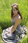 Country girl graduate