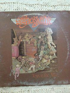 Aerosmith - Toys in the Attic vinyl record. $9.99, via Etsy.