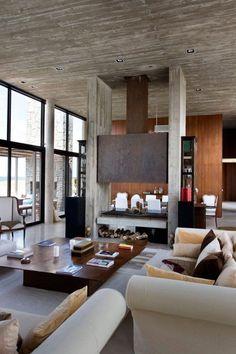 La Boyita Residence - Martin Gomes Arquitectos - Contemporary Living Room