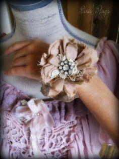 Rag Rose Rhinestone bracelet