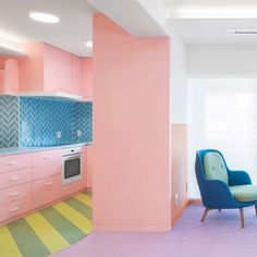 Seven of the best colourful home interiors