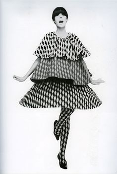 Peggy Mofffitt in Rudi Gernreich, photographed by William Claxton