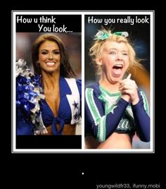 Oh how I love cheerleading.