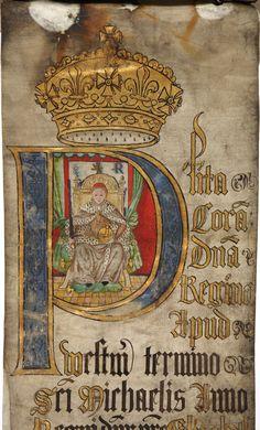 Coram Rege Rolls, Elizabeth I, 1570. The National Archives reference: KB 27/1239. rege roll