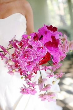Fuchsia / Hot Pink Wedding