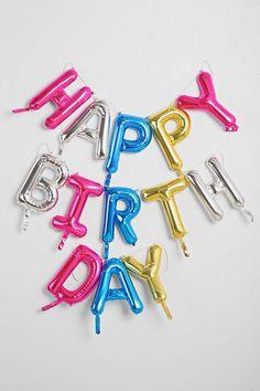 Happy Birthday 16 Inch Party Balloon Kit