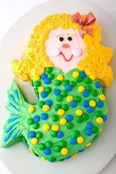 Mermaid Cake. 24 Super-Fun Cakes - Birthday Cake Designs for Kids - Parenting.com