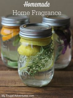 Homemade Home Fragrances-- just like a William's Sonoma Store!