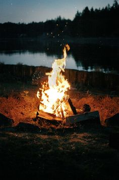 A favorite place: sitting around a campfire :) ....Fall isn't official until your favorite hoodie smells like campfire smoke. ;)