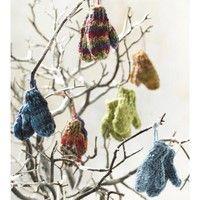99 mini mittens, Free pattern  #knit #pattern