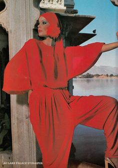 Nina Ricci,    L'Officiel - February 1976,    Photographed by Rodolphe Haussaire