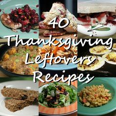 40 Recipes to Use Up Thanksgiving Leftovers