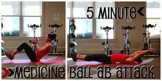 9toFit: Medicine Ball Ab Workout