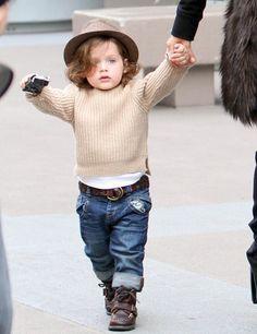 Skyler,Rachel Zoe's son. He is too cute!