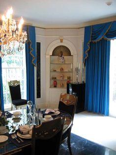 dining rooms, dine room, din room, elvi presley