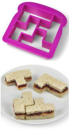 Tetris Sandwich Cutter <3