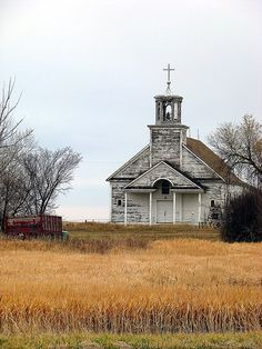 Abandoned country church.