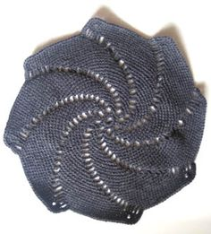 crochet pinwheel doily