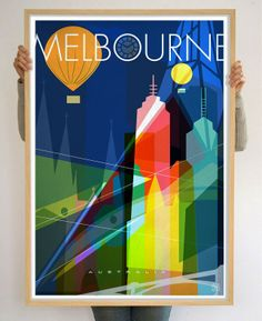 Melbourne Limited Edition 70x100