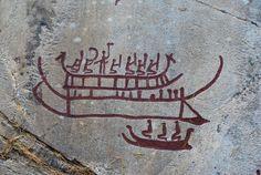 Hällristningarn (boat petroglyphs) Sweden