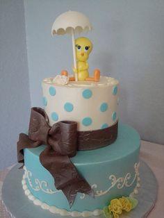 Tweety bird cake I want for my next birthday!