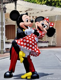Mickey & Minnie <3