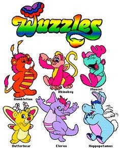 animals, remember this, wuzzl, disney cartoon, toy, saturday morning cartoons, rememb cartoon, disney channel, kid