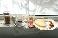 breakfast by the window