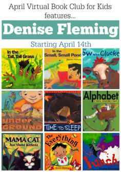 Toddler Approved!: Virtual Book Club for Kids Features Denise Fleming!