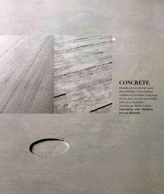 Material concrete on pinterest le corbusier tadao ando and concrete lamp - Beton door lcda ...