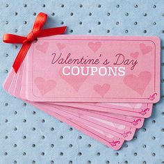 valentine's day coupons.