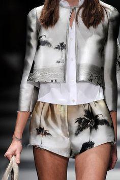 ss 2010, palm, fashion, style, dream, runway, inspir, prada ss, print