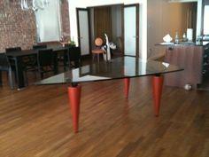 CASSINA Oskar Triangular Table by Isao Hosoe