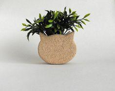 Ceramic Cat Planter