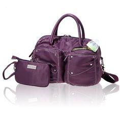 Celebrate the Satchel Diaper Bag! #moms #fashion