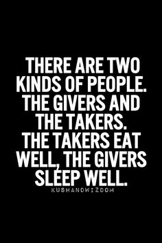 Two kinds of people...