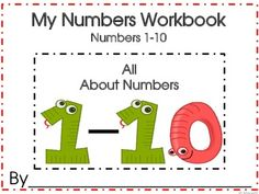 All About Numbers Workbook Number Sense 1-10