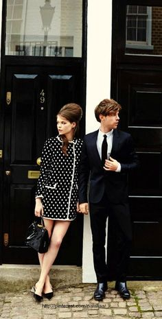 "More Modern Day Mod - ""Summer's Coolest Couple"" - UK Glamour June 2013"
