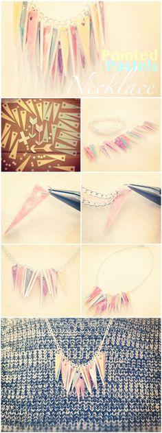 necklace tutorial