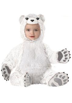 bear costum, polar bears, animal costumes, infant, baby halloween costumes, anim costum, baby animals, babi halloween, costume halloween