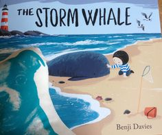Sublime. The Storm Whale by Benji Davies a masterpiece