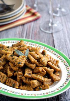 candida diet, vegan, grain-free, gluten-free pumpkin sage gnocchi on rickiheller.com