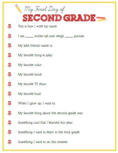 Final Day of Second Grade Interview – Click image or link below to download