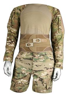 BackJack Tactical - Load Carriage Lumbar Support System.