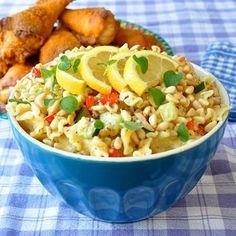 Honey Dijon Pasta Salad | #Honey Recipes