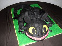 """Toothless"" from How to Train Your Dragon"